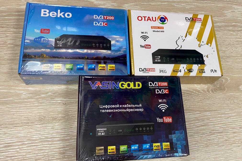 ТВ приставки DVT-T2 оптом в Барнауле