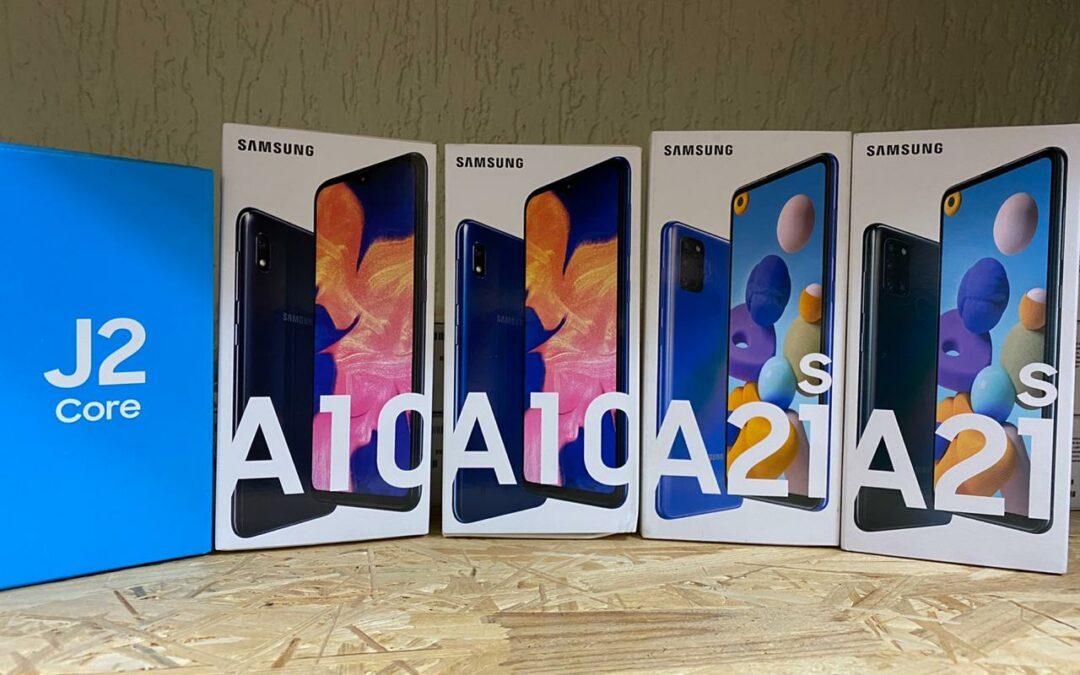 Смартфоны BQ и Samsung А02
